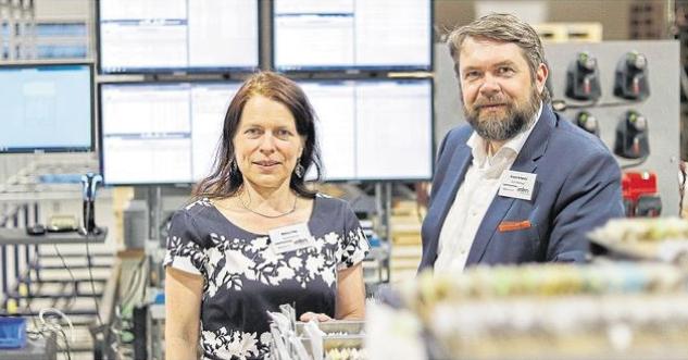Helene Dax, Frank Schmitz. Foto: Rhein-Zeitung Cochem-Zell